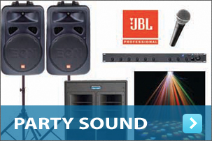 Party Sound Equipment Hire