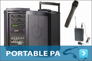 Portable PA Systems Hire Perth