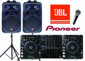 Pro DJ - Audio Visual Perth