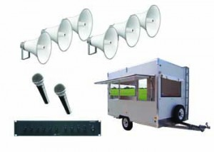 Van Outdoor - Perth Audio Visual
